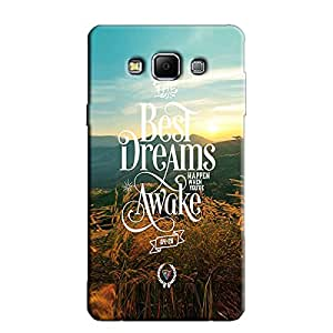 BEST DREAMS BACK COVER FOR SAMSUNG A5