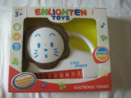 LOLLIPOP TOYS ELECTRONIC SOUNDS CUTE LION PLAY WITH PIANO FUCTION by Lollipop