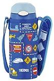 THERMOS 真空断熱ストローボトル 【ワンタッチオープンタイプ】 0.36L ブルー FFI-400F BL
