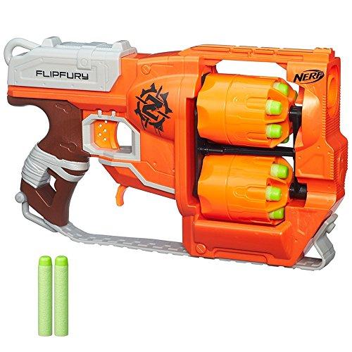 Hasbro A9603EU4 Nerf Zombie Strike FlipFury, Spielzeugblaster
