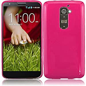 HR Wireless Dynamic Cover for LG Optimus F3/MS659/LS720/VM720 - Retail Packaging - Black/Hot Pink