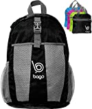 Bago Lightweight Travel Backpack - Packable Daypack For Air Camping and Sports
