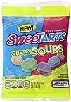 SweeTARTS Chewy Sours Peg Bag, 3.5 Ou…