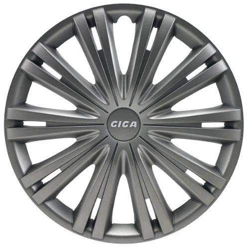 AutoStyle-GIGA-DARK-Set-Copricerchio-Giga-col-Canna-di-Fucile-4-pezzi