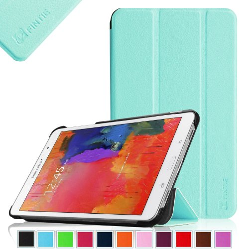 Fintie Samsung Galaxy Tab Pro 8.4 Slim Shell Case Cover - Ultra Slim Lightweight Stand for TabPro 8.4-inch Tablet with Auto Sleep/Wake Feature, Blue