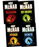 Andy McNab Andy McNab Boy Soldier 4 Books Collection Pack Set RRP: £23.96 (Boy Soldier, Payback, Avenger, Meltdown)