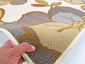 teppich happy holiday gewoben in beige teppich gr e 133. Black Bedroom Furniture Sets. Home Design Ideas