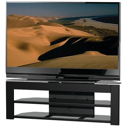 Cheap Techcraft MD65 58-Inch Wide Flat Panel TV Stand (Black) (MD65)