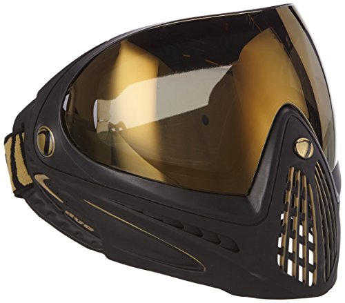 Dye I4 Special Edition Paintball Mask - Black/Gold (Lens For Dye I4 compare prices)