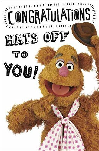 The Muppets, Fozzy Congratulazioni biglietto di auguri