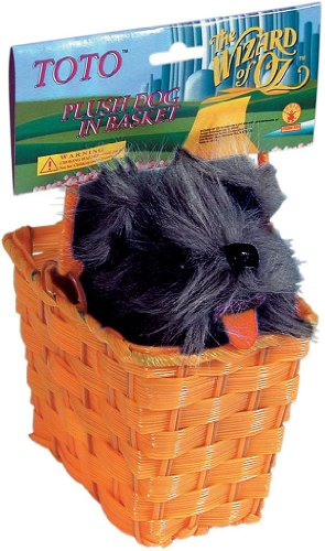 Toto in Basket Costume Accessory