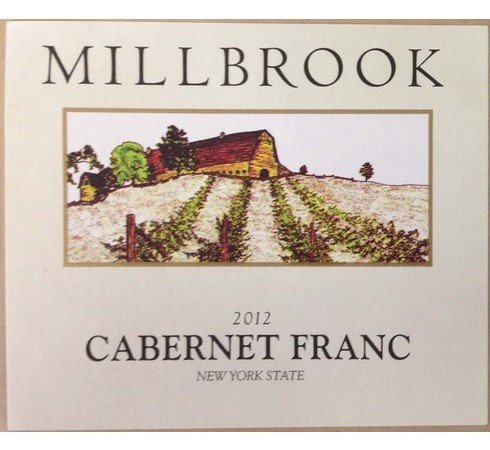 2012 Millbrook Winery Cabernet Franc New York State 750 Ml