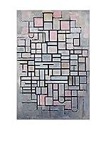 Especial Arte Lienzo Composition IV - Mondrian Piet Multicolor