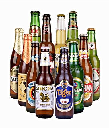 Gourmondo Set: Biere der Welt 12 Flaschen