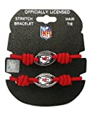 NFL Kansas City Chiefs Stretch Bracelet/Hair Tie Set at Amazon.com