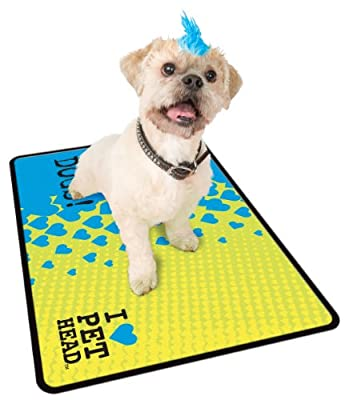 Pet Head Drip and Dry Microfiber Floor Matt