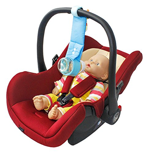 baby bottle holder for car seat carrier handles best in safety hands free bottle sling to tote. Black Bedroom Furniture Sets. Home Design Ideas