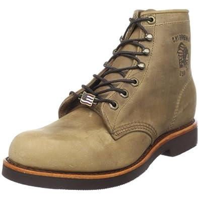 亚马逊美国_奇普瓦Chippewa  20067 6″ American Handcrafted防水野外靴