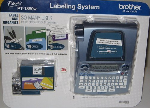 Brother P-Touch Labeling System Pt-1880W