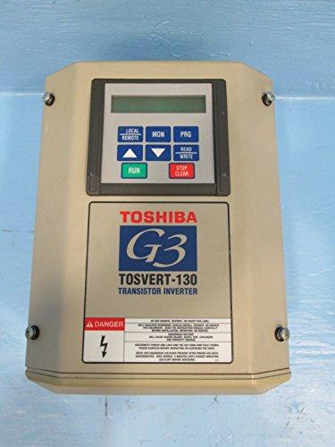 Toshiba G3 Tosvert-130 Vt130G3U4055 5 Hp 460 Vac Transistor Inverter Ac Vs Drive