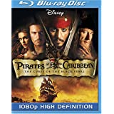 Pirates of the Caribbean: The Curse of the Black Pearl [Blu-ray] ~ Johnny Depp