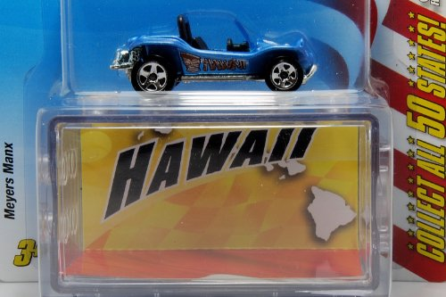 Hot Wheels Connect Cars Hawaii Meyers Manx 1:64 Scale - 1