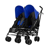 Obaby Apollo Twin Stroller (Blue) by Obaby