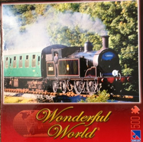 "Wonderful World ""Steam Train"" Puzzle - 500 Pieces"