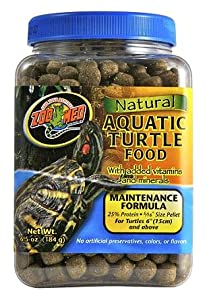 Zoo Med Natural Aquatic Turtle Food Maintenance Formula 1.27KG by Zoo Med