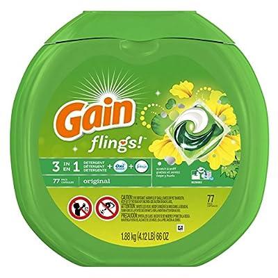 Gain Flings Original Laundry Detergent Pacs