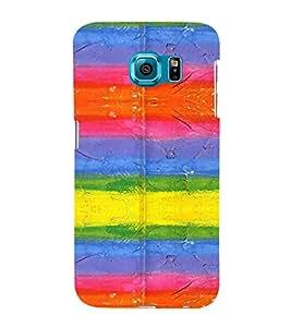 PrintVisa Modern Art Pattern 3D Hard Polycarbonate Designer Back Case Cover for Samsung Galaxy S6