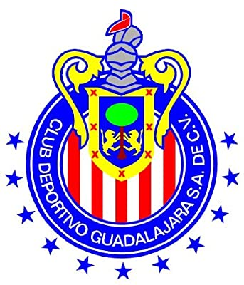 C.D. Guadalajara Mexico Soccer Football Car Bumper Sticker Decal 5