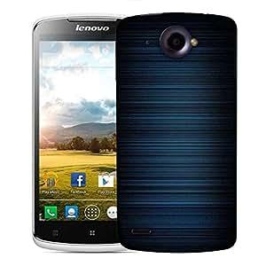 Snoogg Blue Pattern Design Designer Protective Phone Back Case Cover For Lenovo S920