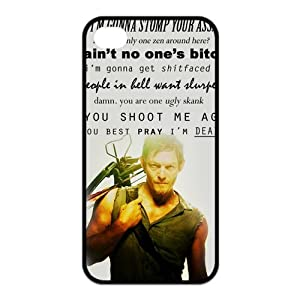 Amazon.com: The Walking Dead Daryl Dixon iPhone 4/4s Case New Black