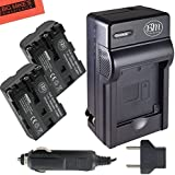 BM Premium 2-Pack NP-FM500H NPFM500 Batteries and Battery Charger for Sony Alpha a77II, SLT-A57, SLT-A58, SLT-A65V, SLT-A77V, SLT-A99V, SLT-A100, SLT-A200, SLT-A300, SLT-A350, SLT-A450, SLT-A500, SLT-A550, SLT-A560, SLT-A580, SLT-A700, SLT-A850, SLT-A900 DSLR Digital Camera + More!!