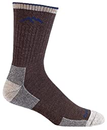 Darn Tough Vermont Merino Wool Micro Crew Cushion Sock, Chocolate, Small(5.5-7.5)