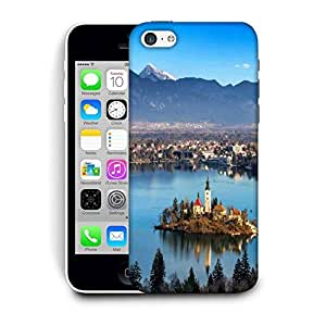 Snoogg House Between The Lake Printed Protective Phone Back Case Cover For Apple Iphone 6+ / 6 Plus