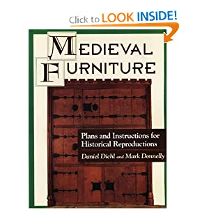constructing medieval furniture