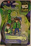 Ben 10 - Alien Force - Alien Collection - Ben Tennyson 4'' - incl. Skateboard & Collector Card - MOC