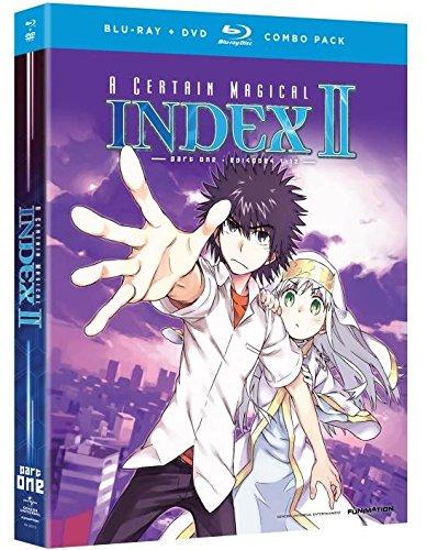 A Certain Magical Index II (To Aru Majutsu no Index) - Season 2, Part 1 (Blu-ray/DVD Combo)