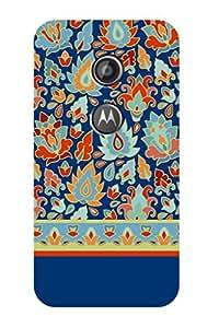 ZAPCASE PRINTED BACK COVER FOR Motorola Moto E(2nd Gen.)