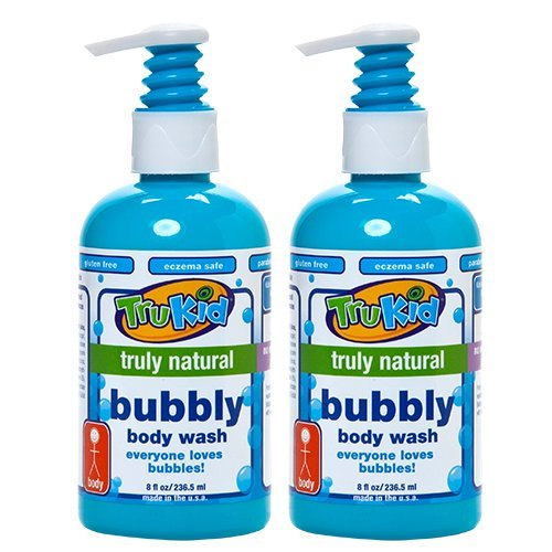 Trukid Bubbly Body Wash, Light Citrus, 2 Count , 8 Ounces Each - 1