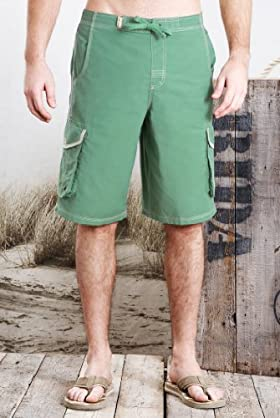 North Coast Cotton Rich Cargo Swim Shorts [T28-7940N-S]