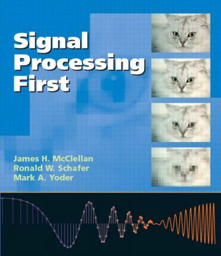 Signal Processing First International Edition (+ Cd) (Pie)