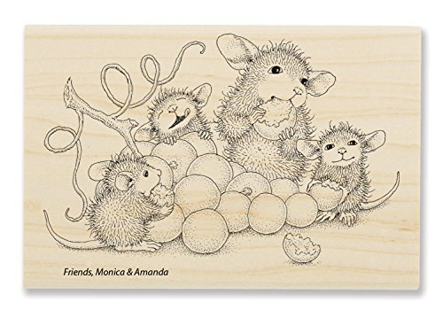 Stampendous Grape Snack Rubber Stamp