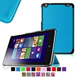 Fintie Lenovo IdeaTab Miix 2 8 Smart Shell Case - Ultra Slim Cover for Lenovo Miix 2 8 Inch Tablet Windows 8.1 - Blue