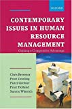 Contemporary Issues in Human Resources Management: Gaining a Competitive Advantage (019571850X) by Brewster, Chris