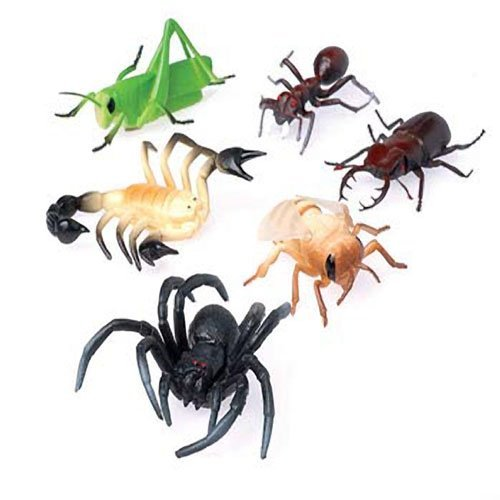 Lot Of 12 Assorted Large Bug Insect Toy Figures