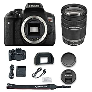 Canon T6i DSLR Camera + Canon EF-S 18-200mm f/3.5-5.6 IS Lens + All Original Accessories Included - International Version