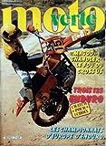 MOTO VERTE [No 77] du 01/09/1980 - MAGOO CHANDLER LE FOU DU CROSS US - 3 125 ENDURO - LES CHAMPIONNATS D'EUROPE D'ENDURO...